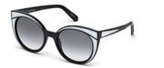 Nakup ali povečava slike, Swarovski Eyewear SK0178-01B.