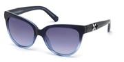 Nakup ali povečava slike, Swarovski Eyewear SK0187-92W.