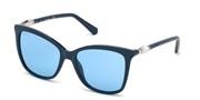 Nakup ali povečava slike, Swarovski Eyewear SK0227-90V.