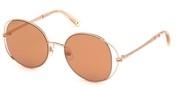 Nakup ali povečava slike, Swarovski Eyewear SK0230-28G.