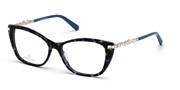 Nakup ali povečava slike, Swarovski Eyewear SK5343-55A.